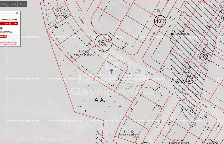 Elvan Oğuzlarda 1317 m2 Satılık Tek Tapu Arsa