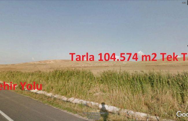 Eskişehir Yoluna 300 metre Polatlı Karapınarda Satılık Tek Tapu