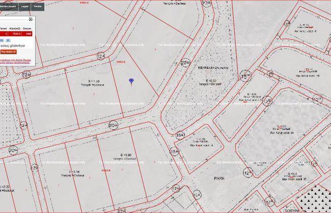 Acil...Yapracık Emsal 2,30 da Satılık 500 m2 Arsa