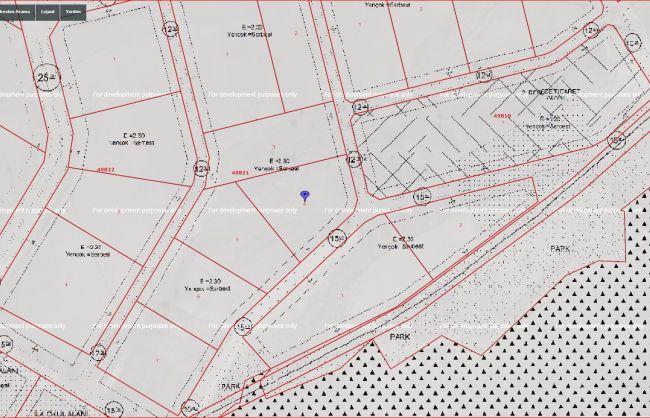 Yapracık Emsal 2,30 Satılık 202 m2 İmarlı Arsa
