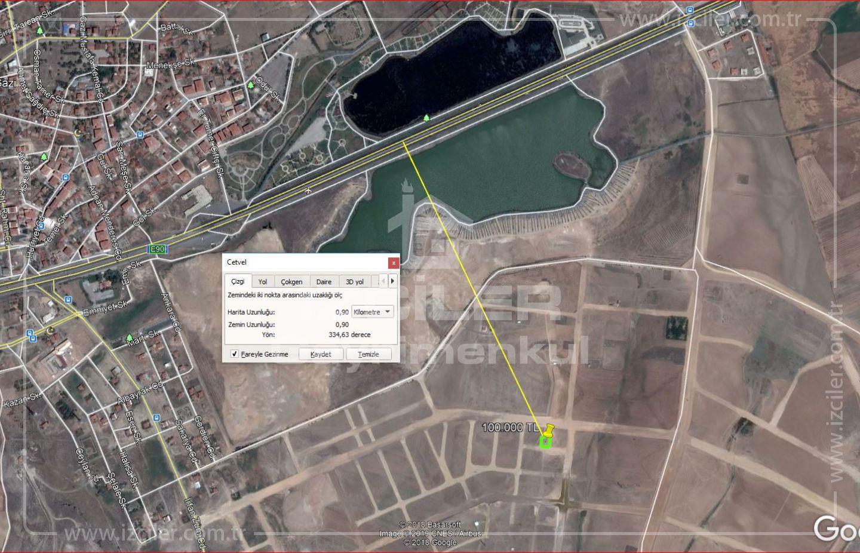 Temellide Satılık Tek Tapu 624 m2 İmar Arsa