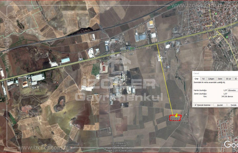 Acil...Temellide 5224 m2 Tarla Eskişehir Yoluna 1,5 km