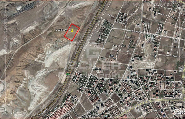 Bağlıca Batışehir de Satılık 3000 m2 Arsa