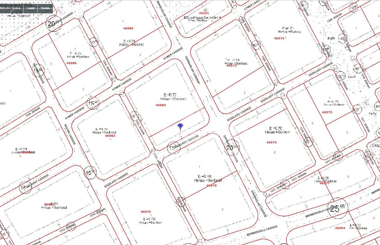 Bağlıca da 4 Daireli Getirili Emsal 0,70 de 718 m2 Satılık Arsa