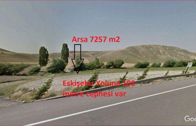 Eskişehir Yoluna Cephe Alagöz'de Satılık Tek Tapu Tarla