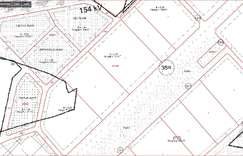 Yapracık'da Bulvara Cephe Emsal 2,30 da Satılık 400 m2 2,5 Daire