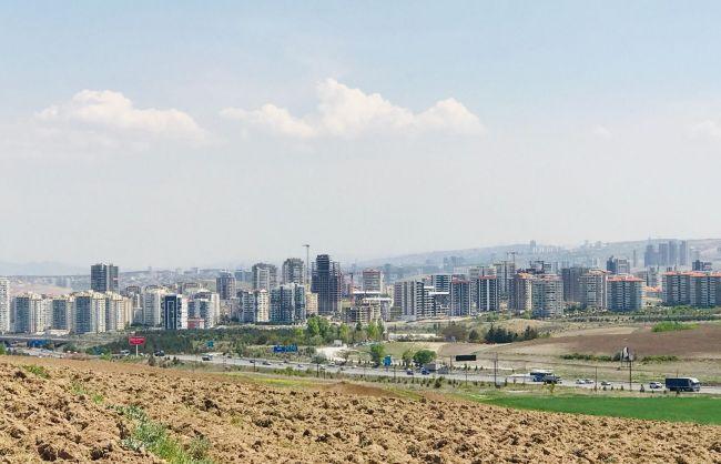 Yapracık 2,30 da Eskişehir Yolu Manzaralı 320 m2 2 Daireli Arsa