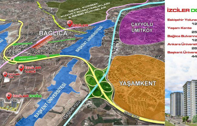 Eskişehir yoluna 1200 m. mesafe de Yatırım için kaçırılmaz Fırsat!