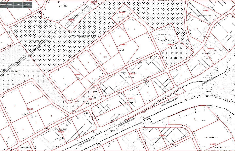 Yapracıkda Satılık 1200 m2 Emsal 2,50 de Ticari Arsa