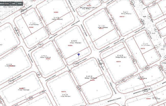 Bağlıca da 105 m2 Arsa 1/4 Daire getirili Hisse
